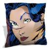 Tattoo-Girl-Throw-Pillow